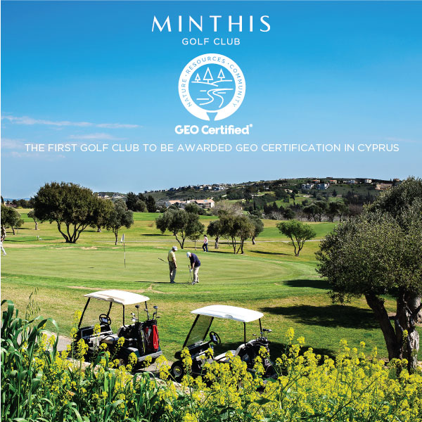 Minthis Resort GEO Certificate photo